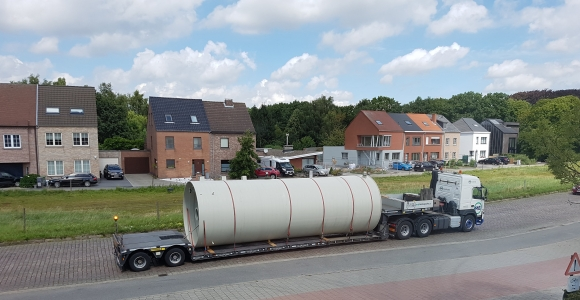 Teblick Transport large tank